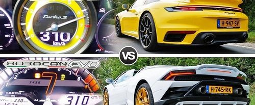 Так выглядит драг-рейсинг на дому 911 Turbo S Vs