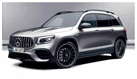 mercedes-benz, glb35, 4matic, 2020
